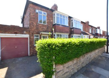 Thumbnail 3 bedroom semi-detached house for sale in 24 Etherstone Avenue, Heaton, Newcastle Upon Tyne, Tyne And Wear