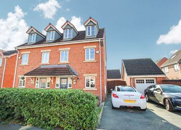 Thumbnail 3 bed semi-detached house for sale in Lavender Gardens, Warrington
