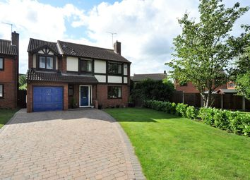 Thumbnail 5 bed detached house for sale in Severn Close, Stretton, Burton-On-Trent