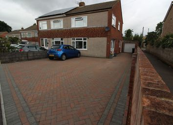 Thumbnail 3 bed semi-detached house for sale in Highworth Crescent, Yate, Bristol