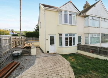 Thumbnail 2 bed end terrace house for sale in Vale Road, Kingskerswell, Newton Abbot