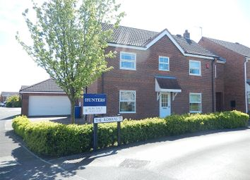 Thumbnail 4 bedroom detached house for sale in The Rowans, Gainsborough, Gainsborough