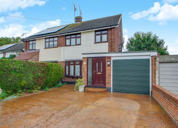 Thumbnail 3 bed semi-detached house for sale in St. Martins Close, Benfleet