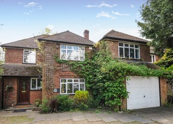 Thumbnail 4 bed detached house to rent in Middle Hill, Englefield Green, Surrey