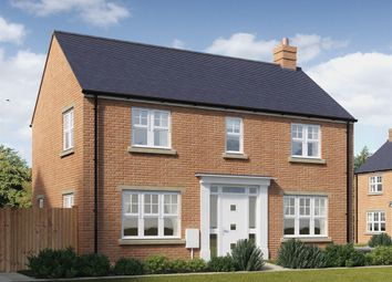 "Thumbnail 4 bed detached house for sale in ""The Himbleton "" at Lionheart Avenue, Bishops Tachbrook, Leamington Spa"