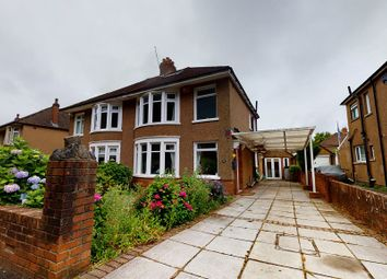 Thumbnail 3 bed semi-detached house for sale in King George V Drive West, Cardiff