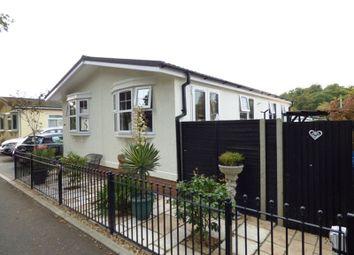 Thumbnail 2 bed mobile/park home for sale in First Avenue, Ravenswing Park, Aldermaston, Reading