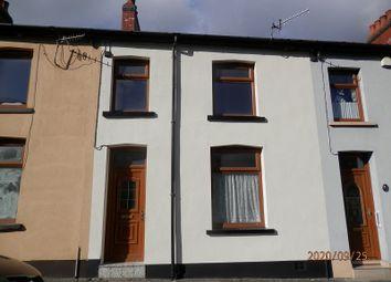Thumbnail 3 bed terraced house for sale in Park Street, Clydach Vale, Rhondda Cynon Taff.