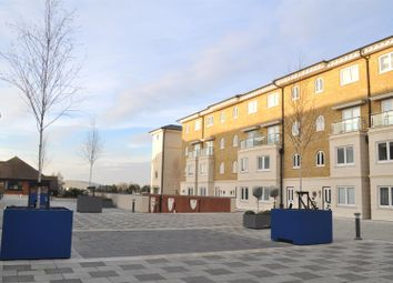 Thumbnail 2 bed flat for sale in Hamilton Quay, Eastbourne