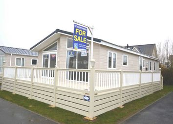 Thumbnail 3 bed lodge for sale in Seaview Holiday Park, St Johns Road, Whitstable