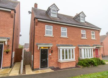 Thumbnail 3 bed semi-detached house for sale in Livingstone Lane, Earl Shilton