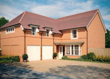 "Thumbnail 4 bed detached house for sale in ""Rothbury"" at Highfield, Froxhill Crescent, Brixworth, Northampton"