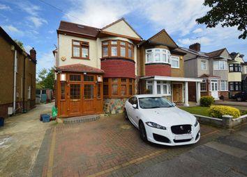 Thumbnail 5 bedroom semi-detached house for sale in Torquay Gardens, Redbridge