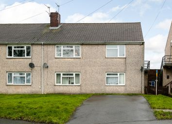 Thumbnail 2 bed maisonette for sale in Mead Crescent, Burton Upon Trent, Staffordshire