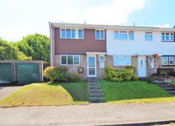 Thumbnail 3 bed end terrace house for sale in Bell Close, Greenhithe