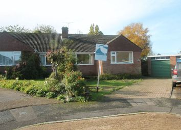 Thumbnail 3 bed semi-detached bungalow for sale in Dering Close, Bridge, Canterbury