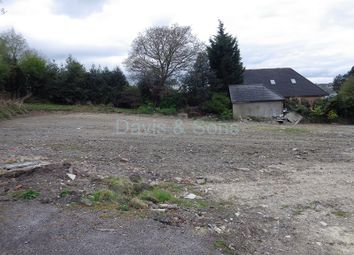 Thumbnail Land for sale in Plot 2 Newbridge Road, Pontllanfraith, Blackwood, Caerphilly.