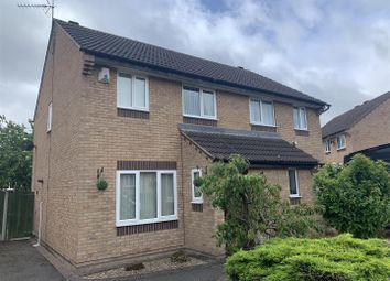 Thumbnail 3 bed semi-detached house for sale in Hallam Way, West Hallam, Ilkeston