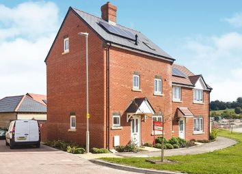Thumbnail 3 bedroom end terrace house for sale in Curtis Way, Weymouth