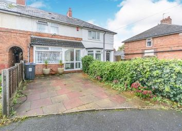 Thumbnail 3 bedroom terraced house for sale in Eastleigh Grove, Birmingham, West Midlands