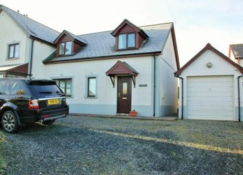 Thumbnail 3 bed semi-detached house to rent in Parcllyn, Cardigan, Ceredigion