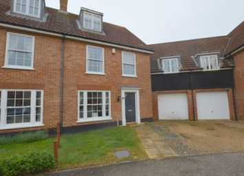 Thumbnail 4 bed town house for sale in Bromedale Avenue, Mulbarton, Norwich