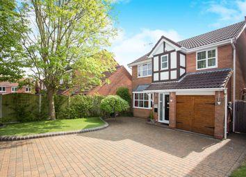Thumbnail 4 bed detached house for sale in Lucerne Road, Oakwood, Derby