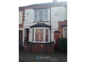 Thumbnail 3 bed terraced house to rent in Beaconsfield Road, Leicester