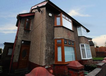 Thumbnail 2 bed semi-detached house for sale in Wensley Road, Blackburn, Lancashire