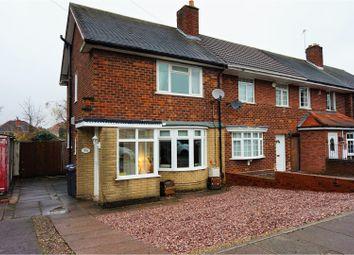 Thumbnail 2 bed end terrace house for sale in Milstead Road, Sheldon, Birmingham