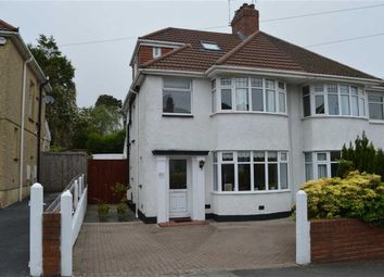 Thumbnail 4 bed semi-detached house for sale in Harlech Crescent, Swansea