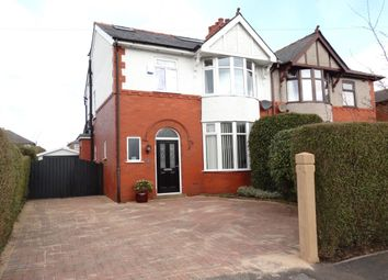 Thumbnail 4 bed semi-detached house for sale in Cadley Causeway, Fulwood, Preston