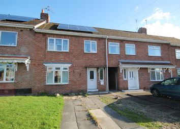 Thumbnail 3 bed terraced house for sale in Hall Lane Estate, Willington, Crook