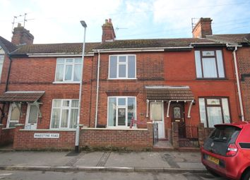 Thumbnail 3 bed terraced house to rent in Maidstone Road, Lowestoft