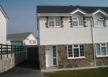 Thumbnail 3 bedroom property to rent in Ty Gwyn Drive, Brackla, Bridgend.