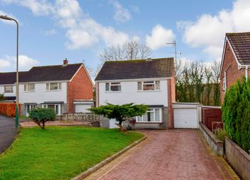 Thumbnail 3 bed detached house for sale in St Davids Drive, Machen, Caerphilly