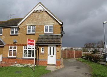 Thumbnail 3 bed semi-detached house to rent in Gordon Close, Ashford