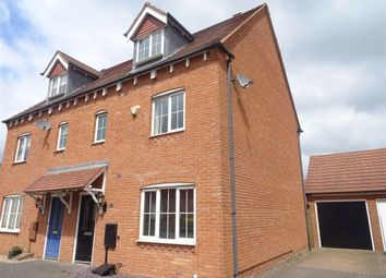 Thumbnail 4 bed semi-detached house for sale in Applebees Meadow, Hinckley
