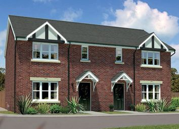 "Thumbnail 3 bed semi-detached house for sale in ""Caplewood Ag"" At Bye Pass Road, Davenham, Northwich CW9, Davenham,"