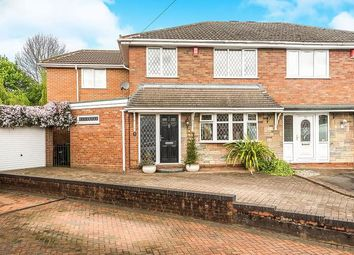 Thumbnail 4 bed semi-detached house for sale in Margaret Close, Quarry Bank, Brierley Hill, West Midlands