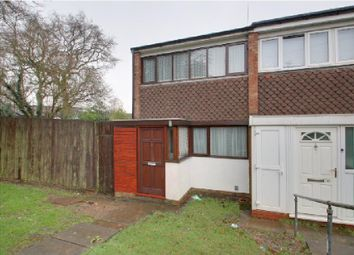 Thumbnail 2 bed end terrace house for sale in Culford Drive, Bartley Green, Birmingham