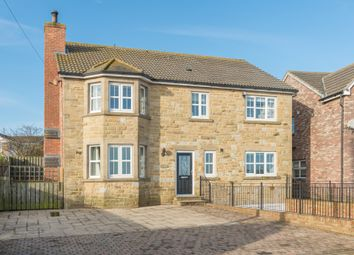 Thumbnail 4 bed detached house for sale in Hawthorn Terrace, Shilbottle, Alnwick, Northumberland