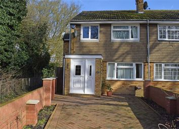 Thumbnail 4 bedroom end terrace house for sale in Loftus Close, Luton, Bedfordshire