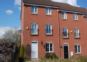 Thumbnail 4 bedroom town house to rent in Chervil Close, Clayton, Newcastle-Under-Lyme