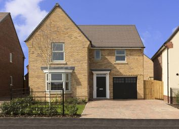 "Thumbnail 4 bed detached house for sale in ""Drummond"" at Michaels Drive, Corby"