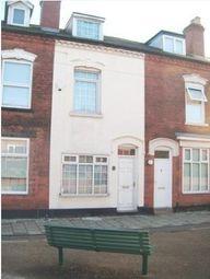 Thumbnail 3 bed terraced house to rent in Marroway Street, Edgbaston