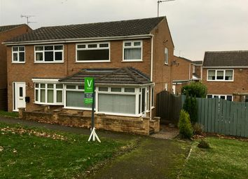 Thumbnail 3 bed semi-detached house to rent in Ashbrook Close, Brandon, Durham