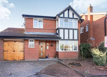 Thumbnail 4 bed detached house for sale in Gable Croft, Lichfield
