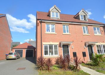 Thumbnail 4 bed semi-detached house for sale in Oak Grove, Weston Favell, Northampton