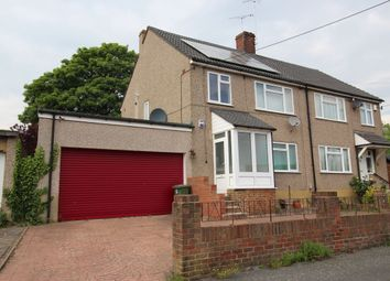 Thumbnail 3 bed semi-detached house for sale in Nuffield Road, Hextable, Swanley